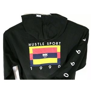 DGK Mens XL 1990 Hustle Sport Black Hoodie Sweater